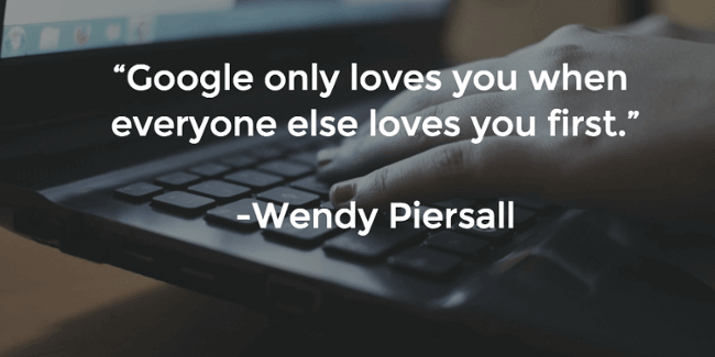 google quote by Wendy Piersall
