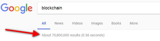 google search blockchain omnidigit