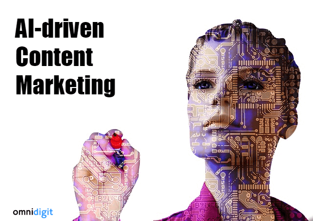 AI driven Content Marketing in Digital Marketing Omnidigit