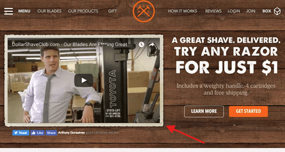 dollar shave club conversion rate optimization best practices omnidigit