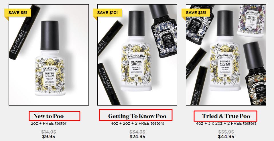 poopourri pricing structure