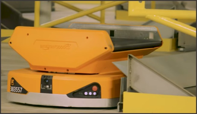 Amazon Warehouse Robots omnidigit