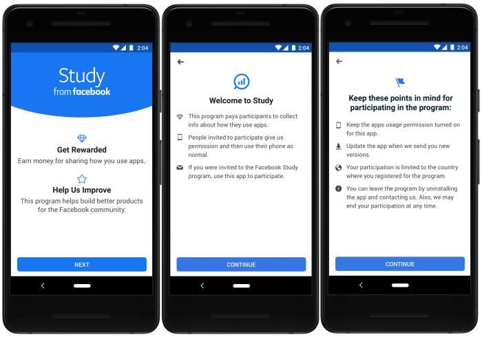 Facebook Study App omnidigit