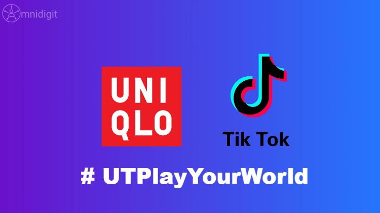 social video app tiktok uniqlo omnidigit