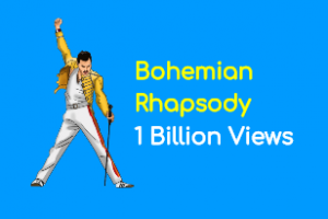 Bohemian Rhapsody One Billion youtube views omnidigit