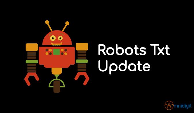 robots text update omnidigit