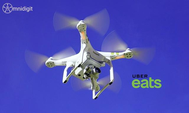 uber eats drones omnidigit